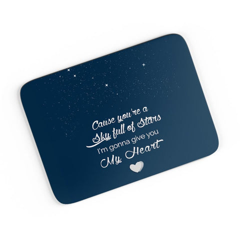 Sky Full Of Stars A4 Mousepad Online India