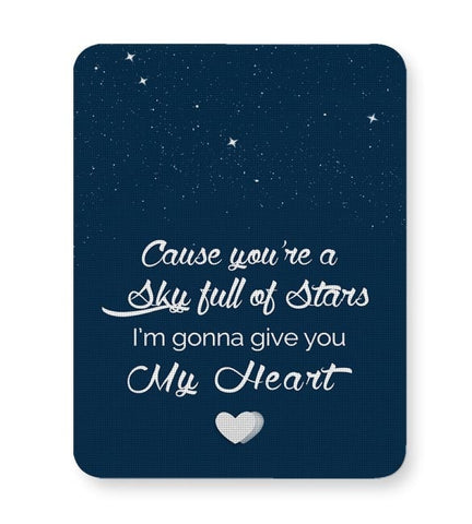 Buy Mousepads Online India | Sky Full Of Stars Mouse Pad Online India