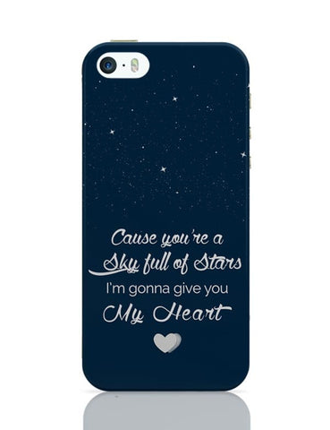 iPhone 5 / 5S Cases & Covers | Sky Full Of Stars iPhone 5 / 5S Case Cover Online India