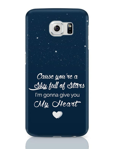 Samsung Galaxy S6 Covers | Sky Full Of Stars Samsung Galaxy S6 Case Covers Online India