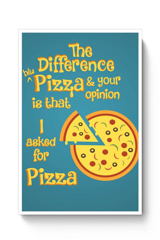 Pizza Poster Online India