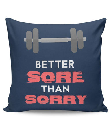Gym Rule #1 Cushion Cover Online India