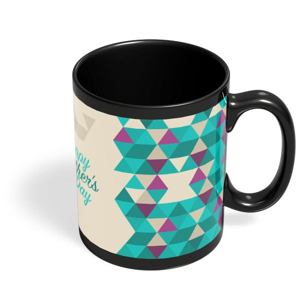 Father'S Day Black Coffee Mug Online India