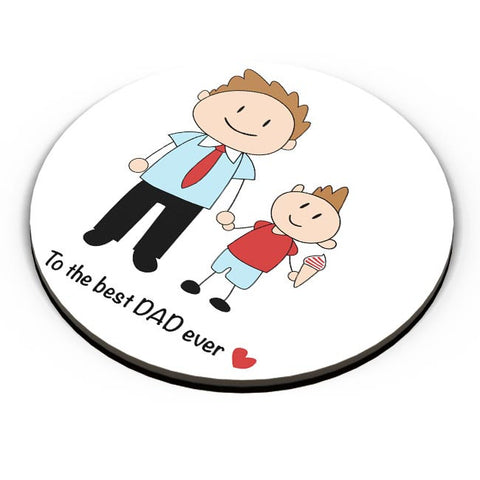 Best Dad Ever Fridge Magnet Online India