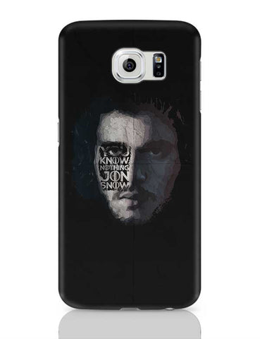GOT Jon Snow Samsung Galaxy S6 Covers Cases Online India