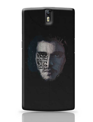GOT Jon Snow OnePlus One Covers Cases Online India