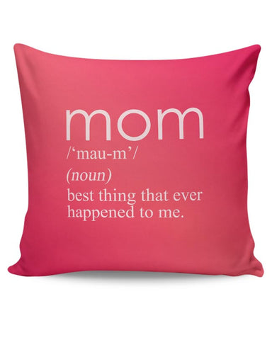 PosterGuy | Mom In The Dictionary Cushion Cover Online India