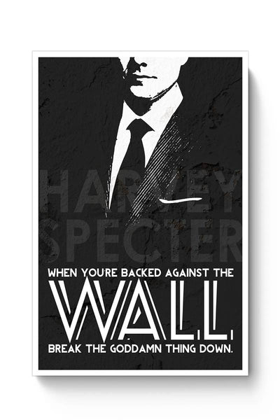 Harvey Specter Quote Poster Online India