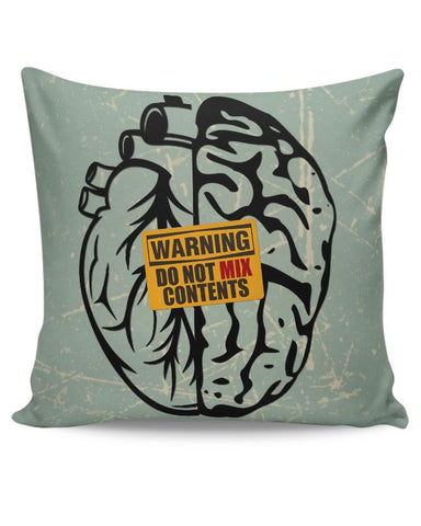 Heart Vs Brain Cushion Cover Online India
