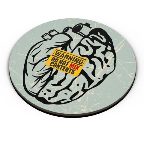 Heart Vs Brain Fridge Magnet Online India