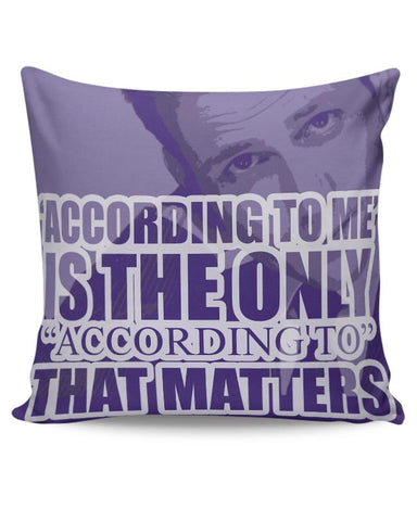 Harvey Specter Quote Cushion Cover Online India