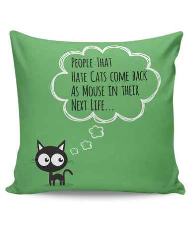 Black Cat Cushion Cover Online India