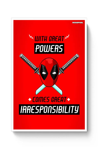 Buy Deadpool Poster