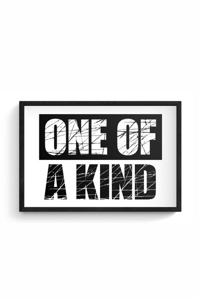 One of a kind Framed Poster Online India