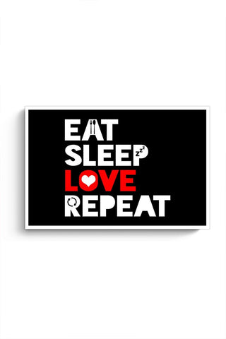 Eat Sleep Love Repeat Poster Online India