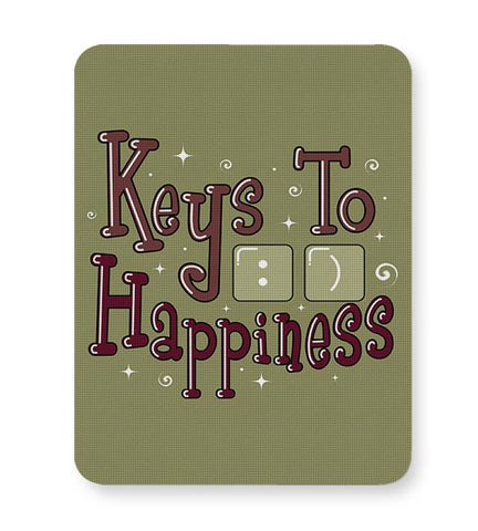 Keys To Happiness Mousepad Online India