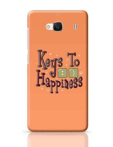 Keys To Happiness Redmi 2 / Redmi 2 Prime Covers Cases Online India