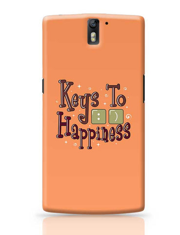 Keys To Happiness OnePlus One Covers Cases Online India