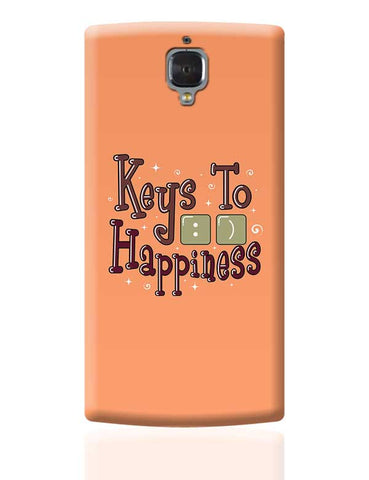 Keys To Happiness OnePlus 3 Covers Cases Online India
