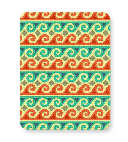 Wavy Pattern Mousepad Online India