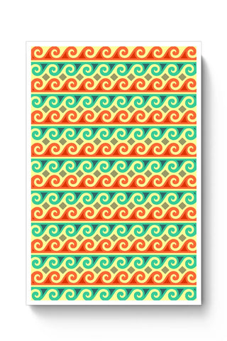 Wavy Pattern Poster Online India