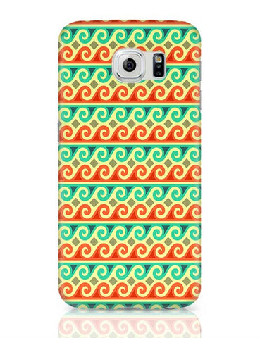Wavy Pattern Samsung Galaxy S6 Covers Cases Online India