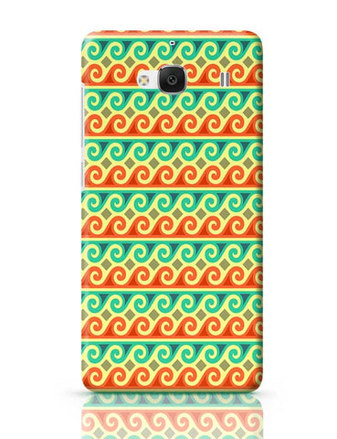 Wavy Pattern Redmi 2 / Redmi 2 Prime Covers Cases Online India