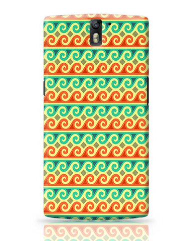 Wavy Pattern OnePlus One Covers Cases Online India