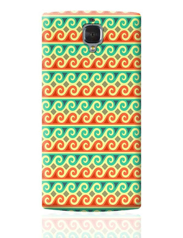 Wavy Pattern OnePlus 3 Covers Cases Online India
