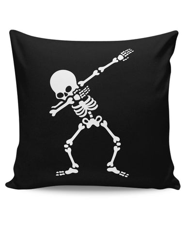 Skeleton Dab Cushion Cover Online India