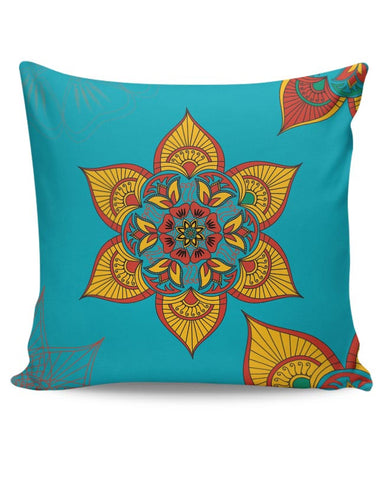 PosterGuy | Traditional Floral Cushion Cover Online India