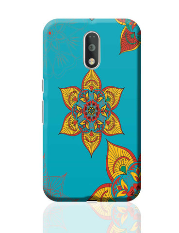 Traditional Floral Moto G4 Plus Online India