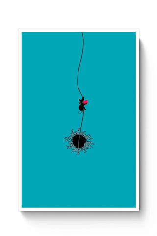 Posters Online | Heart Stealer Poster Online India | Designed by: Tiny Dots