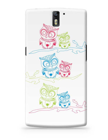 Owl OnePlus One Covers Cases Online India