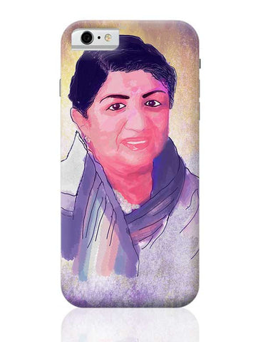 Lata Mangeshkar - Rangeela Re iPhone 6 / 6S Covers Cases