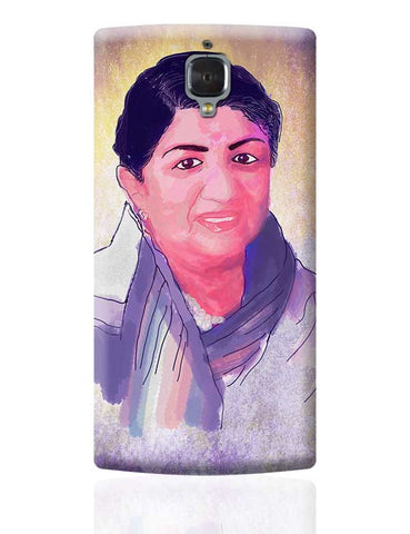 Lata Mangeshkar - Rangeela Re OnePlus 3 Covers Cases Online India