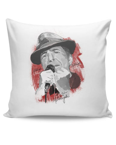 Leonard Cohen - Hallelujah Cushion Cover Online India
