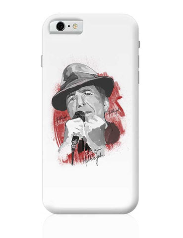 Leonard Cohen - Hallelujah iPhone 6 / 6S Covers Cases