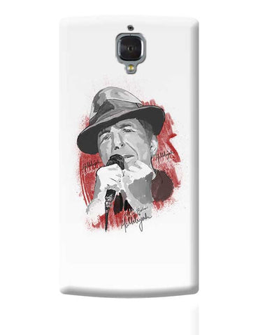 Leonard Cohen - Hallelujah OnePlus 3 Covers Cases Online India