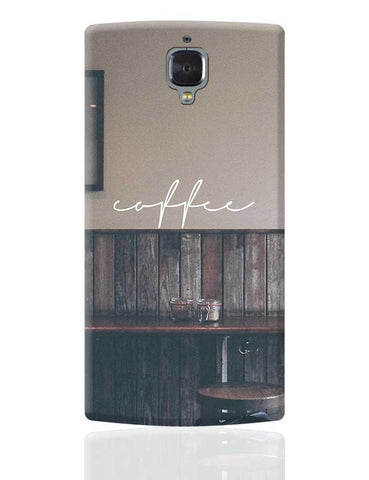 A Nostalgic Cup Of Coffee? OnePlus 3 Cover Online India