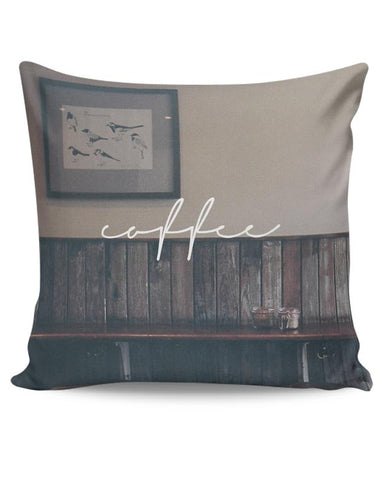 A Nostalgic Cup Of Coffee? Cushion Cover Online India
