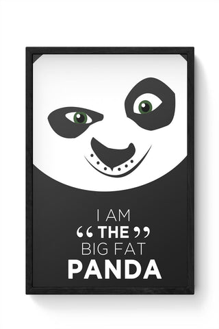 Framed Posters Online India | Kung Fu Panda Framed Poster Online India