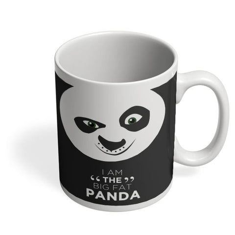Kung Fu Panda White Coffee Mug