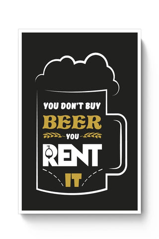 Posters Online | Beer Poster Online India | Designed by: SamarthG7