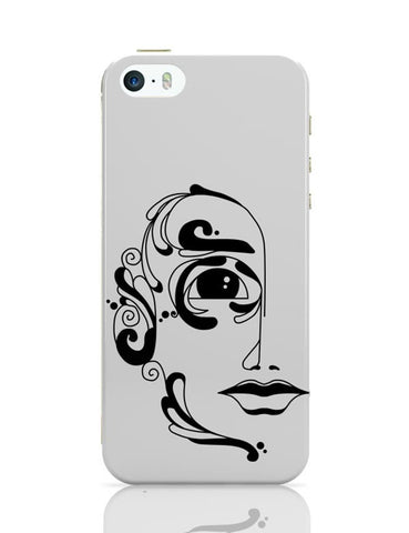 iPhone 5 / 5S Cases & Covers | Classy Face iPhone 5 / 5S Case Cover Online India