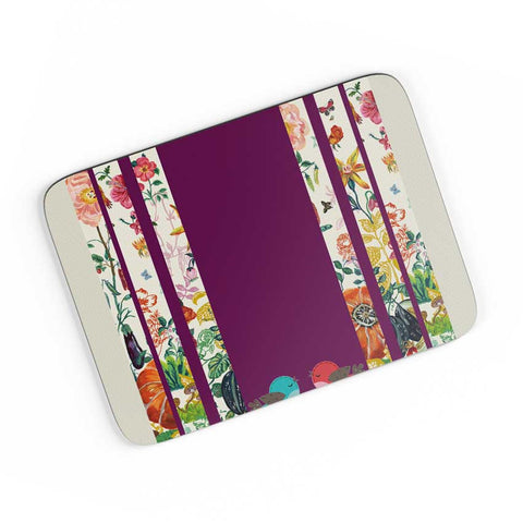 Floral Fantasy A4 Mousepad Online India
