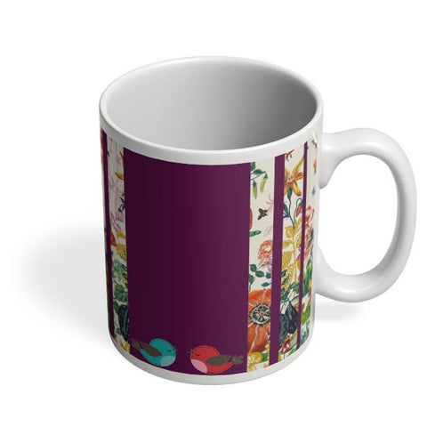 Coffee Mugs Online | Floral Fantasy Coffee Mug Online India
