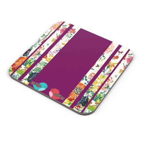 Buy Coasters Online | Floral Fantasy Coasters Online India | PosterGuy.in
