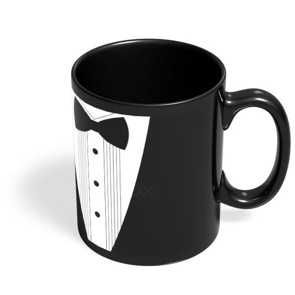 Coffee Mugs Online | Gentleman!! Black Coffee Mug Online India
