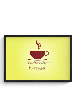 Chai love Framed Poster Online India